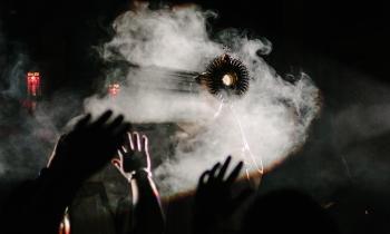 Eucharist, incense, adoration
