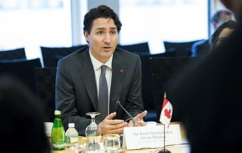 Trudeau at World Bank