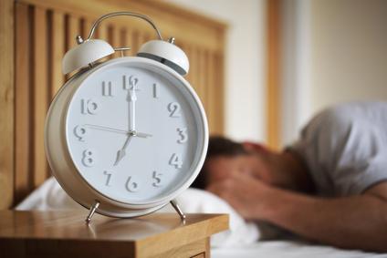 Hitting snooze on the alarm